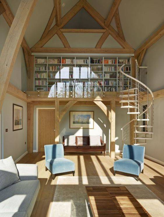 A Loft Library - Fantastic for a Book Collection
