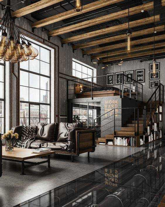 Innovative and Industrial - Modern Gallery Loft Designs