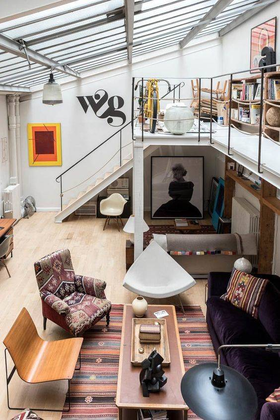 A Space for Storage - Gallery Loft Ideas