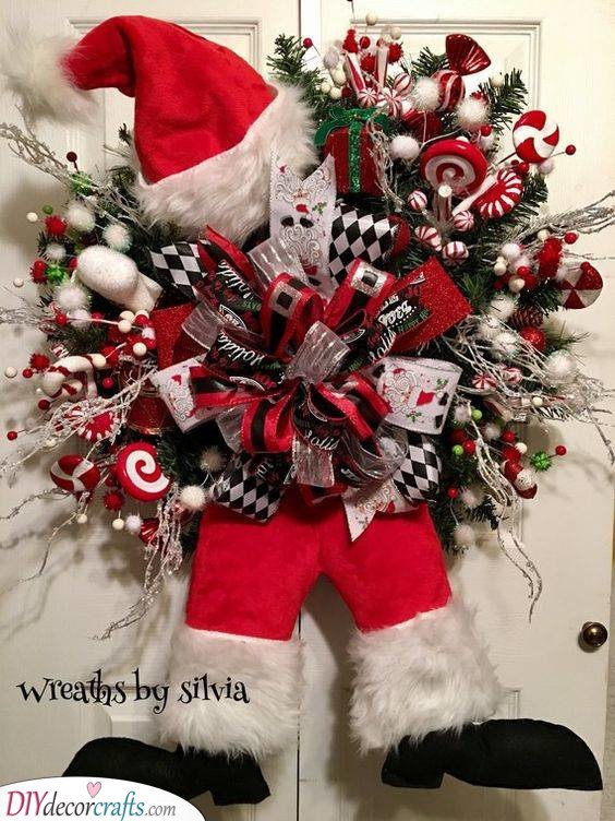 Festive and Fun - Santa Decorations for Outside