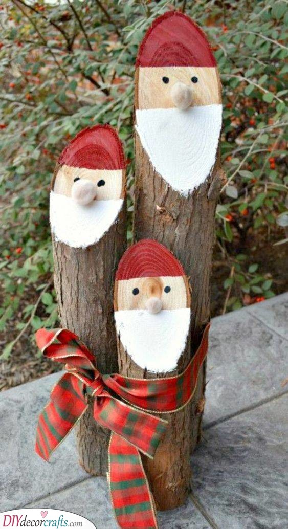 A Bundle of Santa Logs - Lovely and Easy