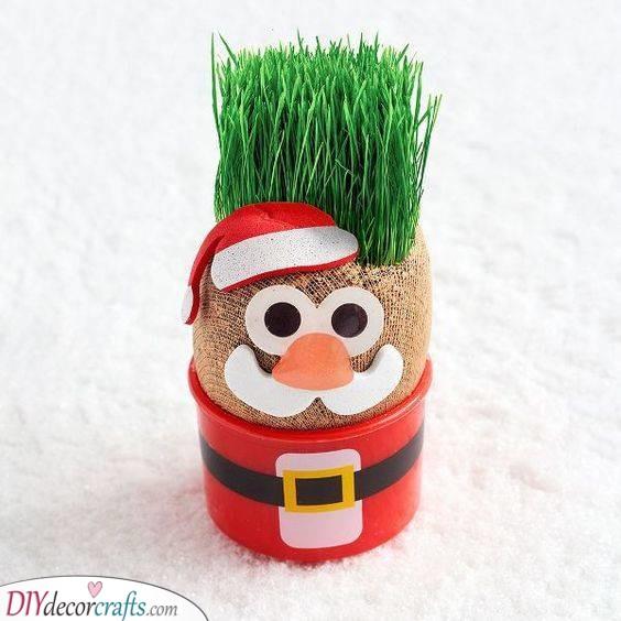 An Adorable Planter - A Jolly Look