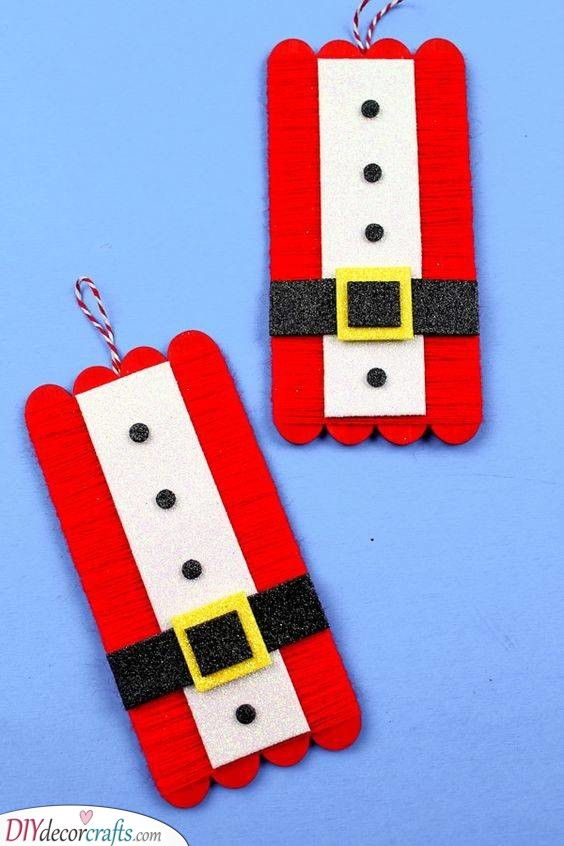 A Popsicle Stick Craft - Simple and Superb