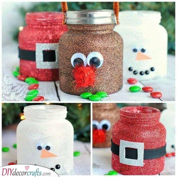 Fabulous Mason Jars - Festive Decorations for Winter
