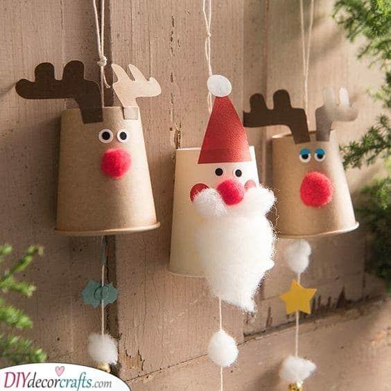 Cute Cups - Santa Crafts for Kids
