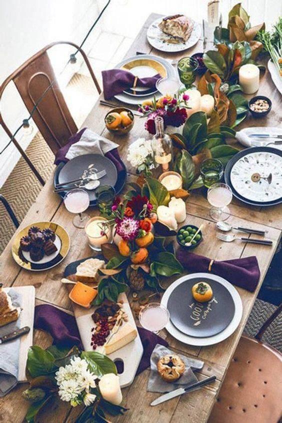 A Natural Feeling - Thanksgiving Centrepiece Ideas