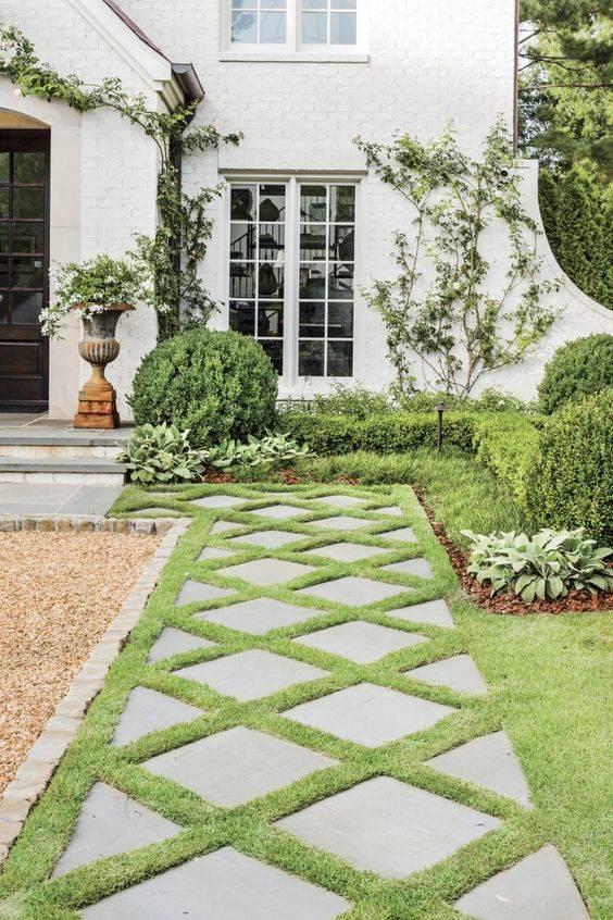 Easy Garden Paths - Garden Walkway Designs