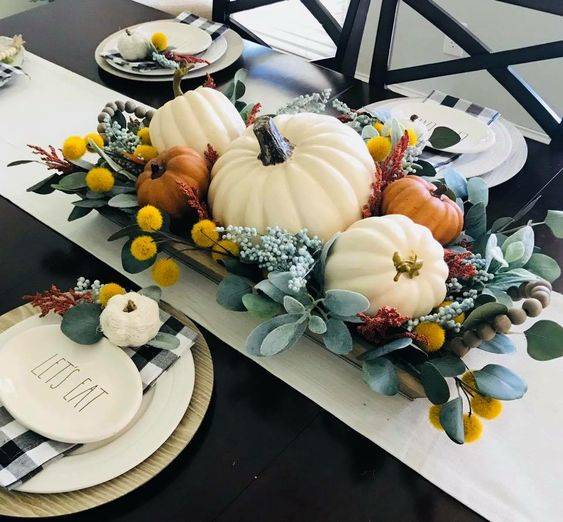 Thanksgiving Table Decor - Centrepieces for the Holiday