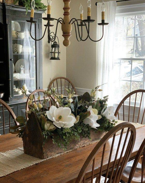 Simple Dining Table Centrepieces - Dining Room Table Decor