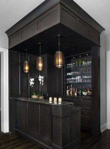 Modern Home Bar Ideas - Living Room Bar Ideas