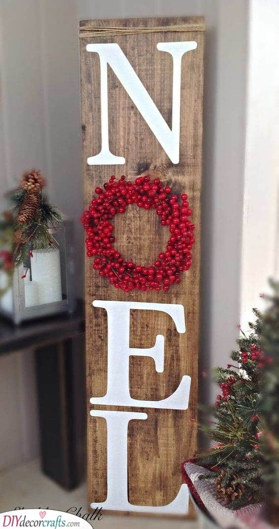 A Welcome Sign - Santa Claus Door Decorations