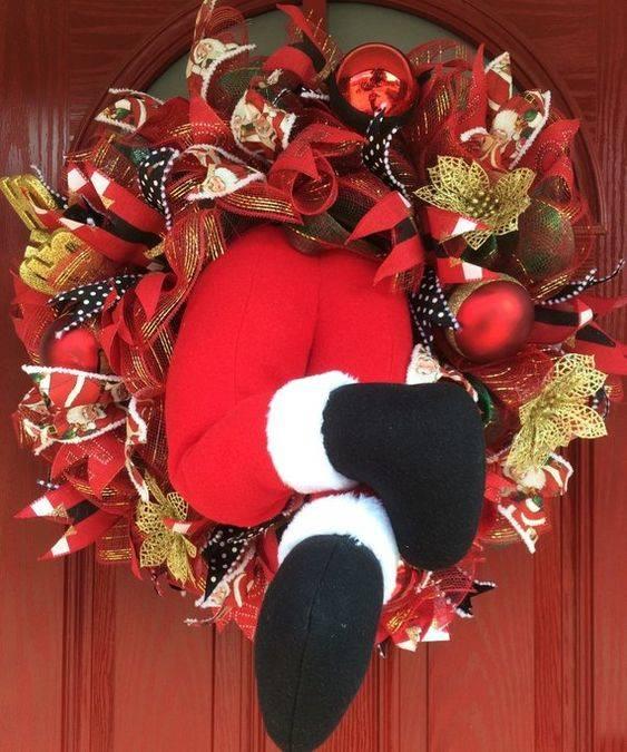Arriving at Your Home - Not in Secret Santa Door Decor