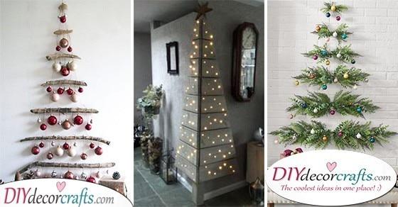 Wall Hanging Christmas Tree 20 Wall Christmas Tree Ideas