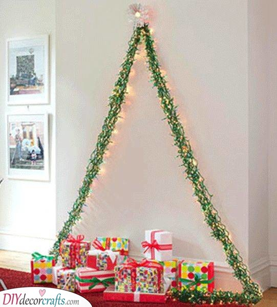 Festive and Fabulous - Wall Hanging Christmas Tree