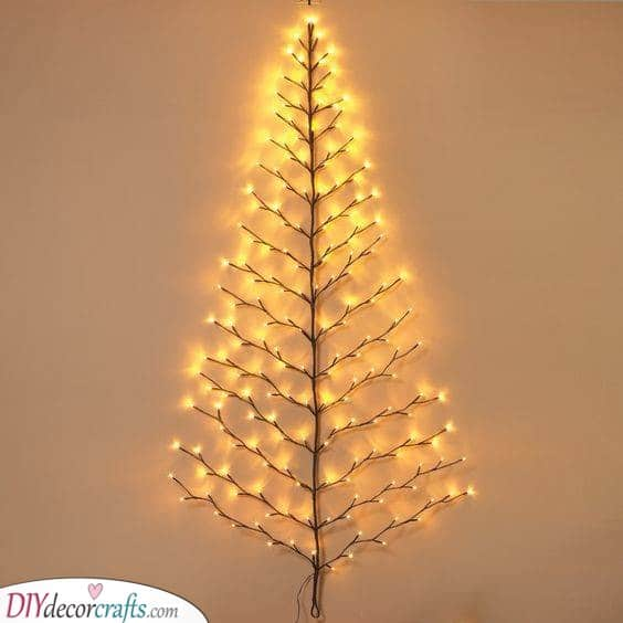 In the Shape of a Tree - Led Lights