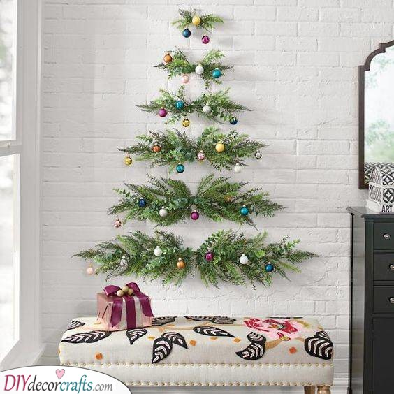 Simple with Style - Horizontal Fir Branches