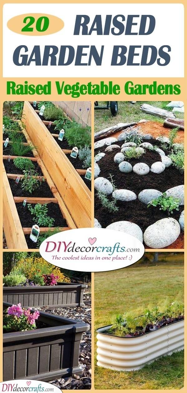 20 RAISED GARDEN BEDS - Raised Vegetable Gardens