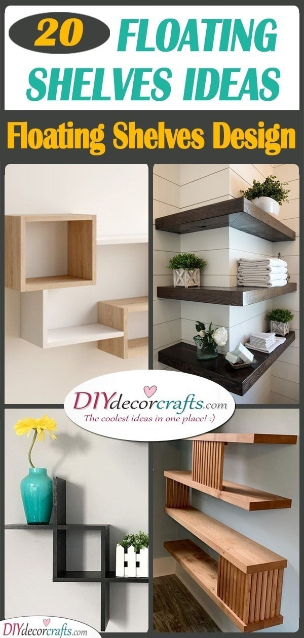 20 FLOATING SHELVES IDEAS - Floating Shelves Design