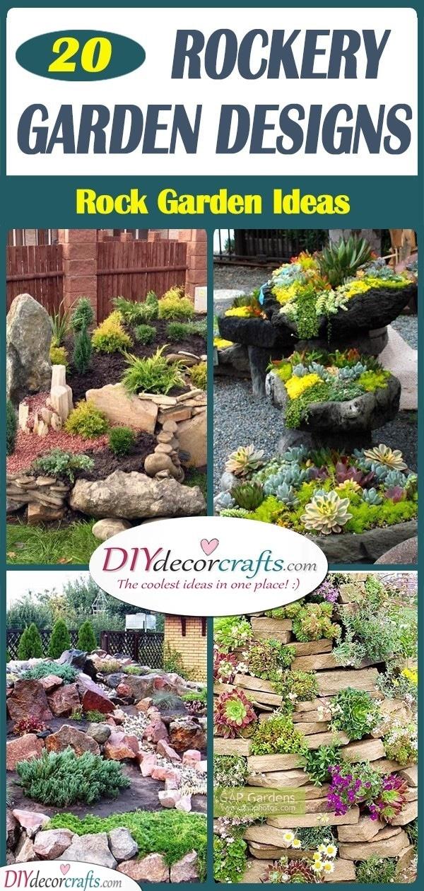 20 ROCKERY GARDEN DESIGNS - Rock Garden Ideas