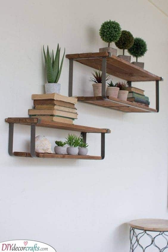 Recycled Wood and Metal - Recycle and Reimagine