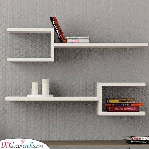 Unique and Exciting - Floating Shelf Designs