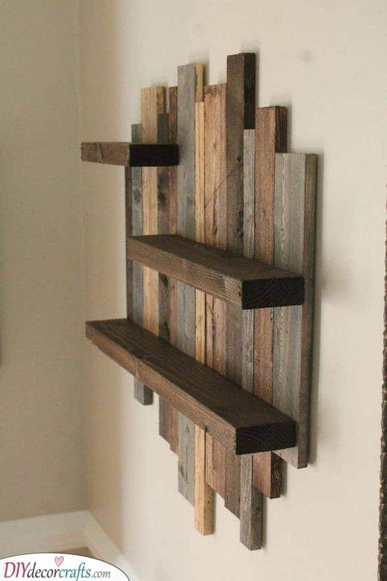 Getting Really Creative - Reusing Wooden Pallets