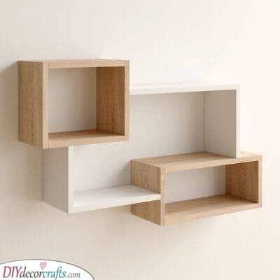 Wonderful in Wood - Three Fantastic Shelves