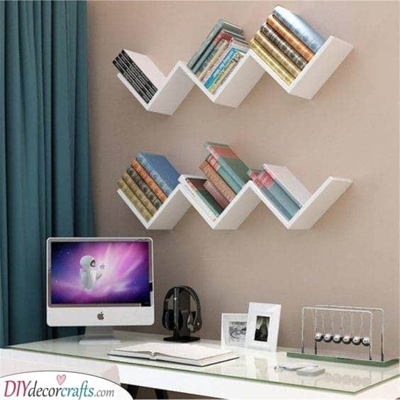Another Idea for Books - Wall Shelf Ideas