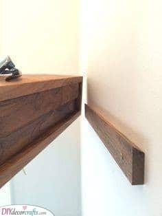 Another Easy Hack - Floating Shelves Ideas