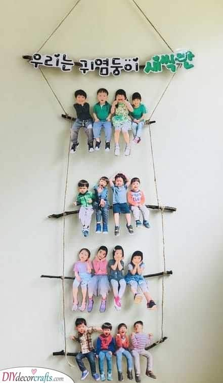 A Creative Photo of the Class - Cute and Lovely