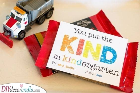 The Kind in Kindergarten - Kindergarten Teacher Gift Ideas