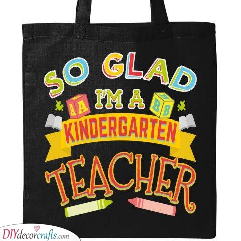 An Awesome Tote Bag - Nursery Teacher Gifts