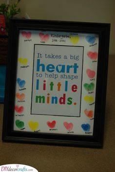 Fingerprint Hearts - An Easy Craft for Kids