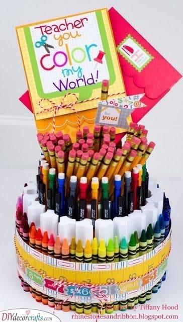 A Set of School Supplies - Nursery Teacher Gifts