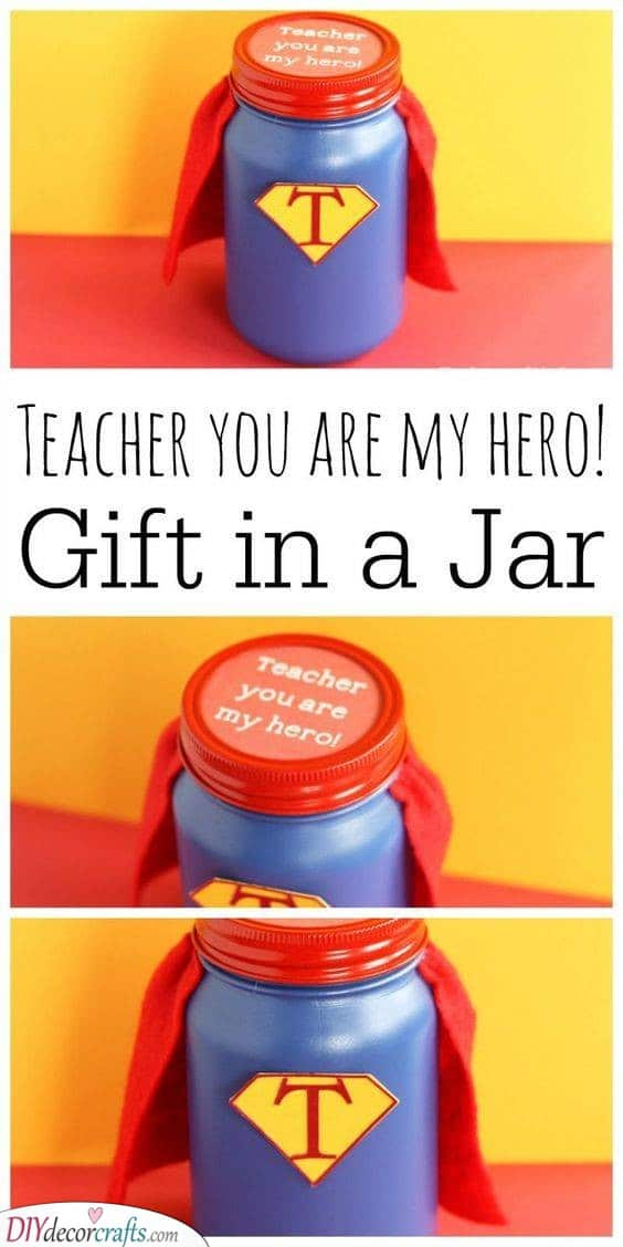 A True Hero - Best Teacher Gifts