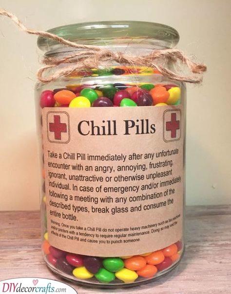 A Jar of Chill Pills - Best Teacher Gifts
