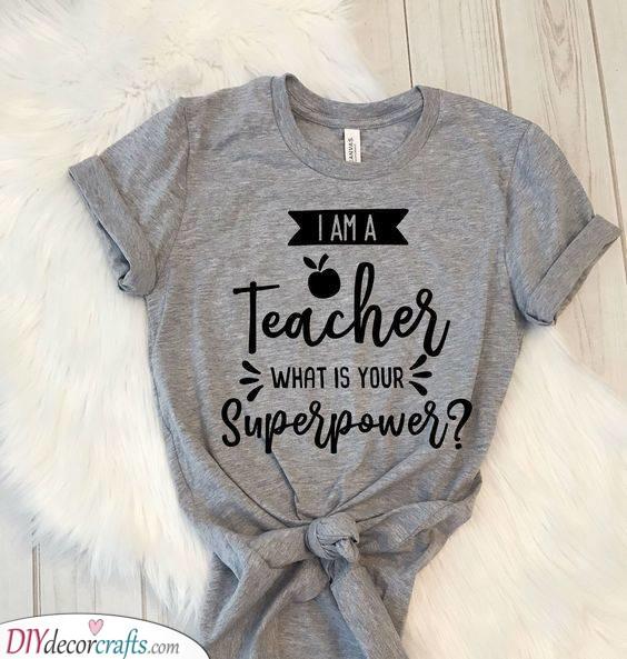 Being a Teacher - Having a Superpower