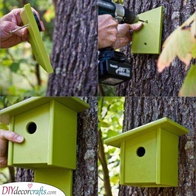 How to Install a Bird House - A Simple Tip