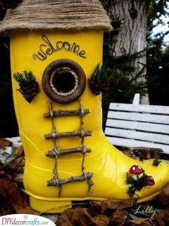 An Old Boot - A Whimsical Option