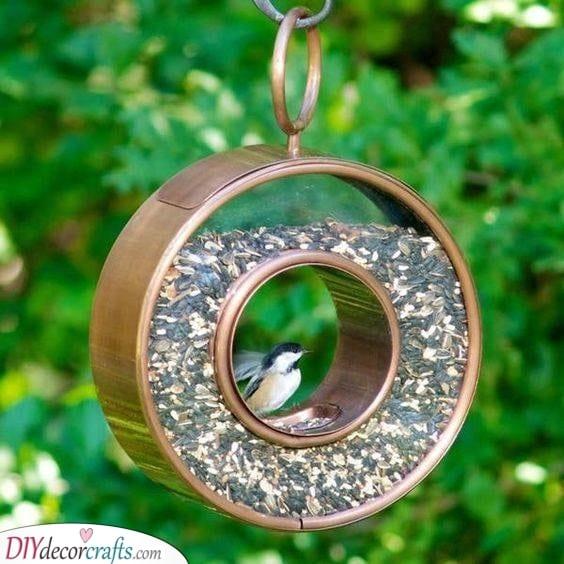 An Elegant Design - Squirrel Proof Bird Feeder