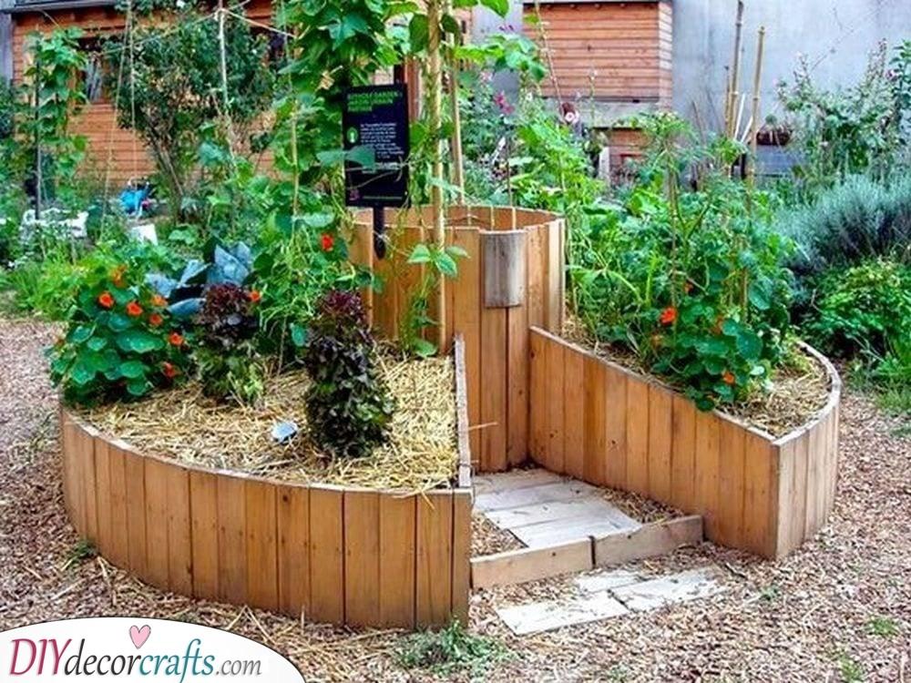 Another Keyhole Design - Making Gardening Easier
