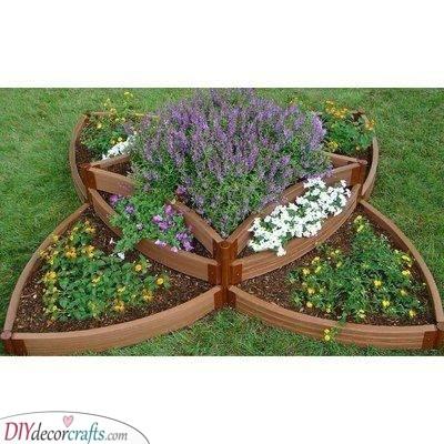 Try a Fabulous Shape - Raised Vegetable Garden