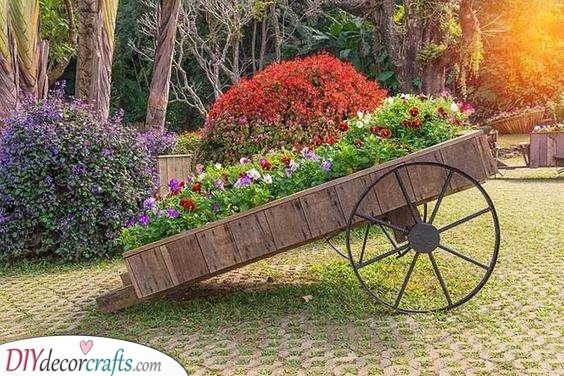 A Wooden Wagon - Giving it a New Purpose