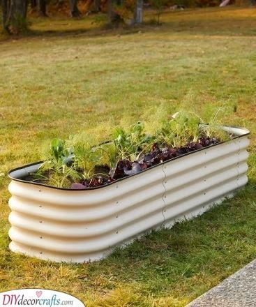 Time to Recycle - Galvanized Tub Idea