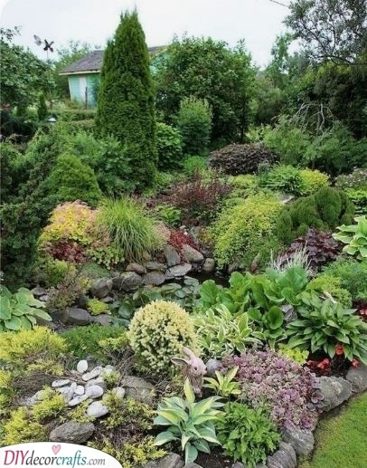 Incorporate a Small Pond - For Anyone Who Loves Water