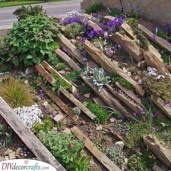 The Crevice Garden Design - An Inventive Solution