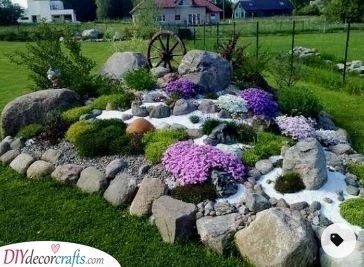 Art in Your Garden - Rock Garden Ideas