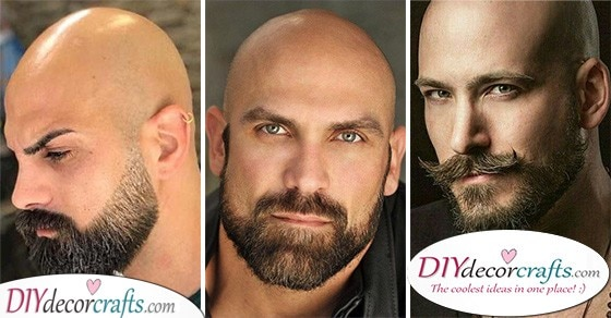 20 BEARD STYLES FOR BALD MEN - Shaved Head with Beard Styles