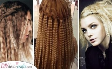 20 GORGEOUS CRIMPED HAIRSTYLES - Crimped Wavy Hair