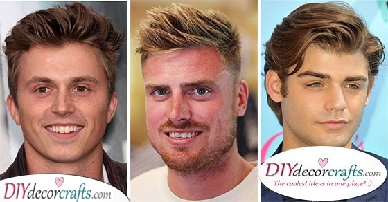 20 BEST HAIRCUTS FOR ROUND FACE MEN - Mens Haircut Styles for Round Faces